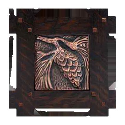 Adirondack Style Tile Frame - TFT3210 - Solid Wood Frames